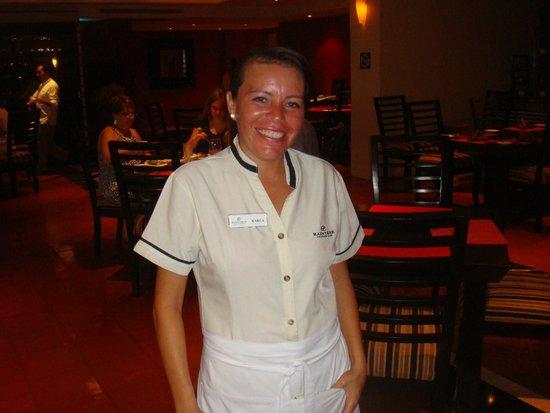 Club Regina Puerto Vallarta: Karla @ Inizio restaurant