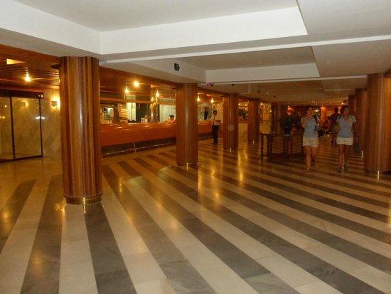 Atalaya Park Hotel: Recibidor y recepción