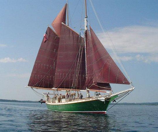 """Inland Seas Education Association: Schooner Inland Seas """"THE SCIENCE SHIP"""""""