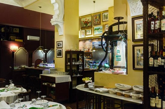 Restaurante El Encuentro: La sala interna