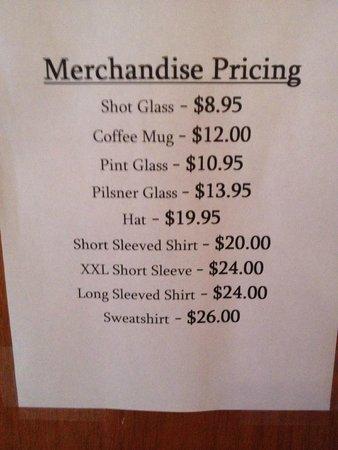 High Finance Restaurant : Merchandise for Sale