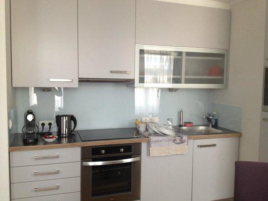Apartments Wolf Dietrich: kitchen area apartment 12