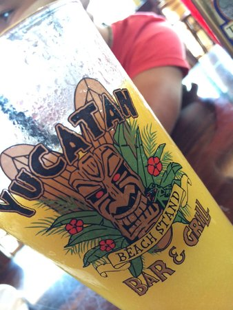 Yucatan Beach Stand Bar: Tasty Drinks as well