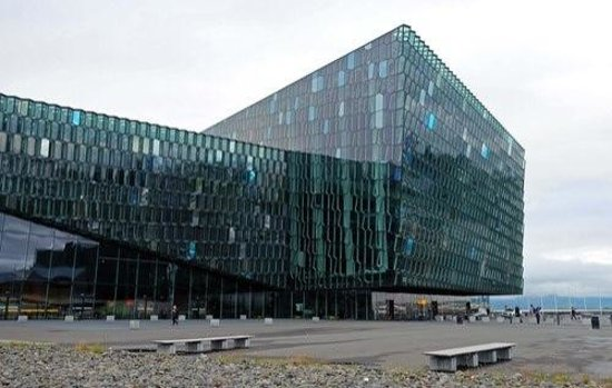 Harpa Reykjavik Concert Hall and Conference Centre: Harpa from outside