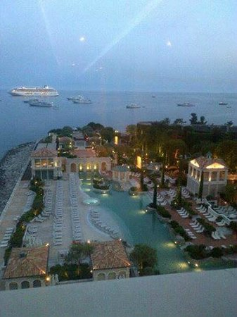 Monte-Carlo Bay & Resort: View from the 6th floor