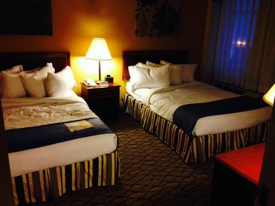 Holiday Inn Chicago Downtown: Comfotable beds