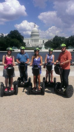 Bike and Roll DC : Our Team on the MOVE in DC
