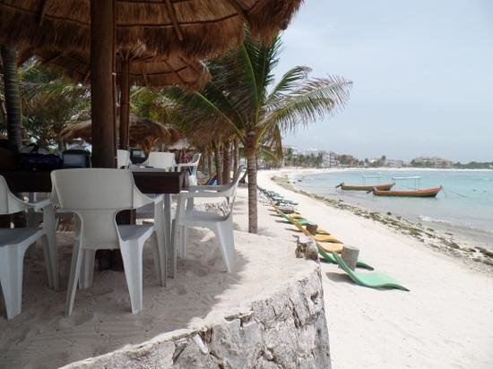 La Buena Vida Restaurant : view from our table