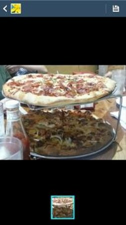Dr. Ho's Humble Pie : Double Decker Pizza
