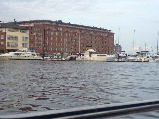 Baltimore Water Taxi: some recreational vessels in the Marina