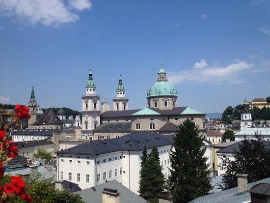 Apartments Wolf Dietrich: View across Salzburg