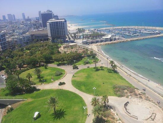 Hilton Tel Aviv: Aussicht Lounge