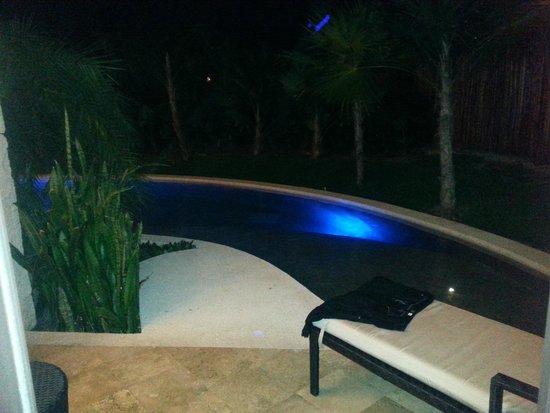 Secrets Maroma Beach Riviera Cancun : Our pool