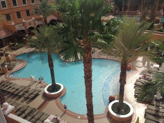 Wyndham Grand Desert: Family pool - view from room