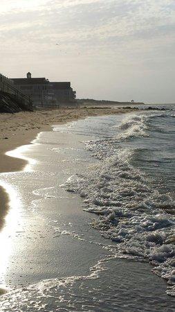 Corsair and Cross Rip Oceanfront: Morning walk