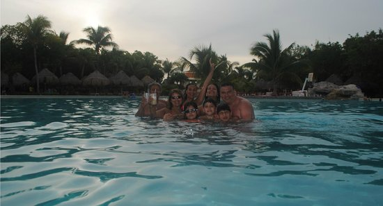 Iberostar Paraiso Lindo: la piscina mas linda que he conocido