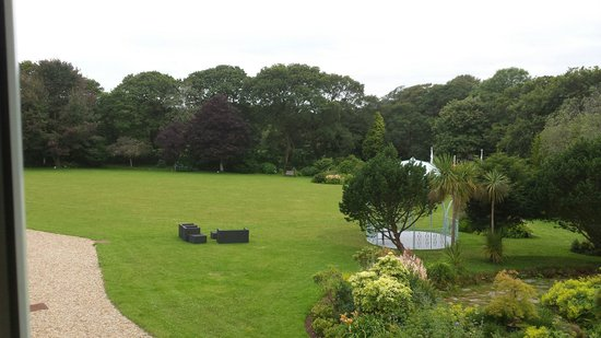 Moorland Garden Hotel: View from our window x