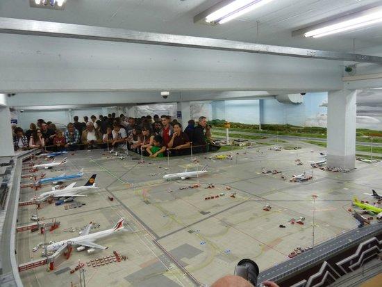 Miniatur Wunderland: Airport model.