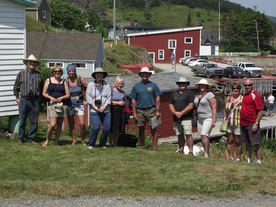 Trinity Historical Walking Tours: Tour group July 21, 2014