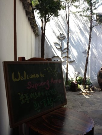 Sopoong Guest House: Entrance to Annex