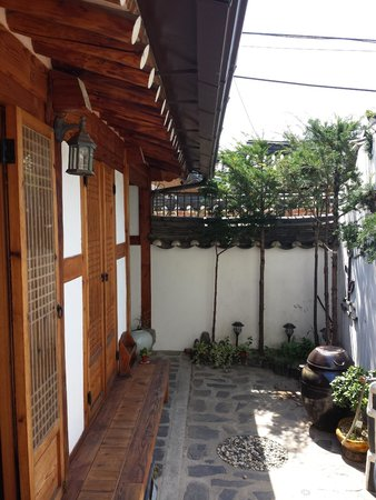Sopoong Guest House: Outdoor area of Annex