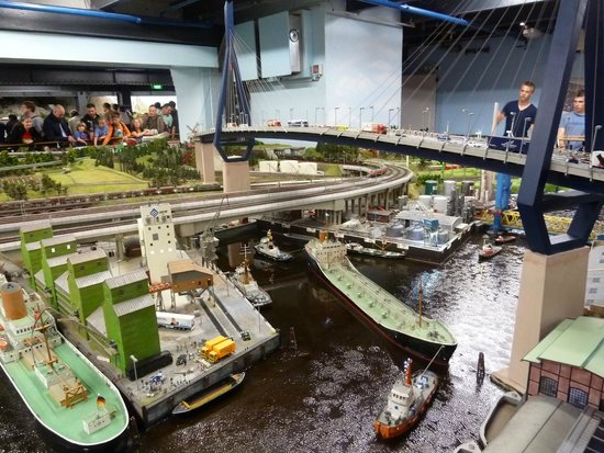 Miniatur Wunderland: Harbour scene.