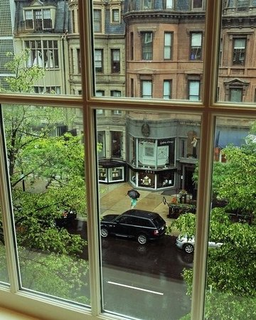 Newbury Street: View from second floor