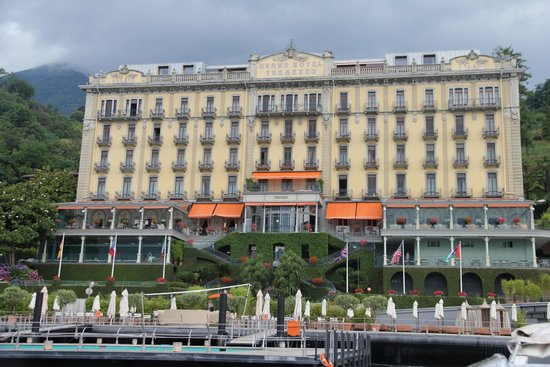 Grand Hotel Tremezzo: hotel direct view from the lake