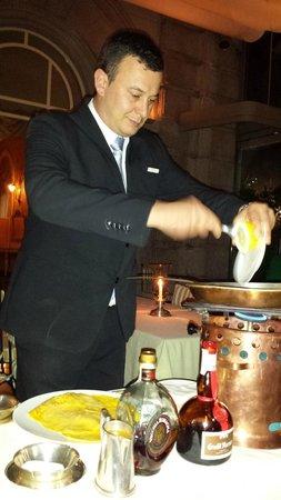 Grand Hotel Tremezzo: dining at La Terrazza