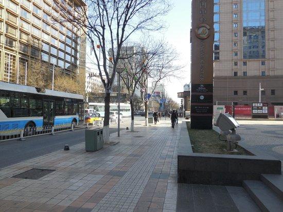 Novotel Beijing Peace : llegando al hotel