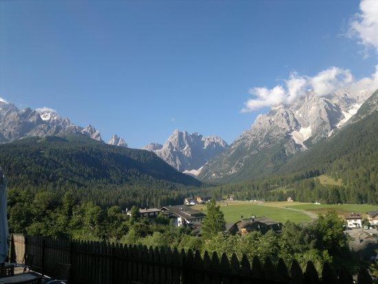 Biovita Hotel Alpi: Vista camere sud