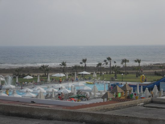 Louis Phaethon Beach: our view from our room