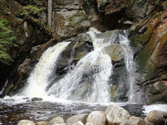 Purgatory Chasm State Reservation: Purgatory Falls