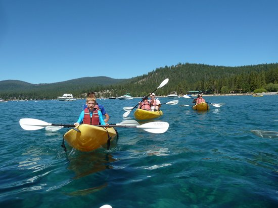 Tahoe Adventure Company: paddle on beautiful Lake Tahoe