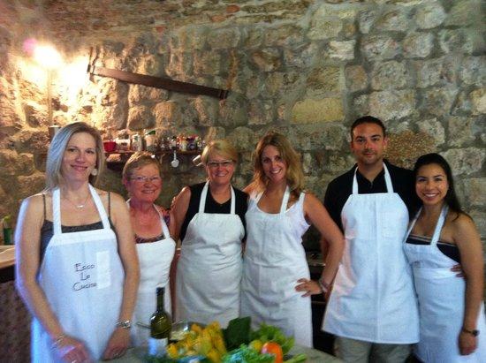 Ecco La Cucina: before we cook we photo!