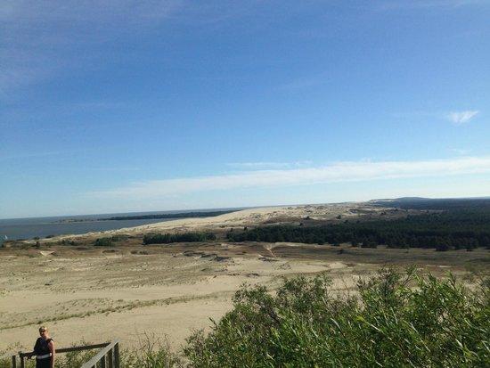 Nida Dunes : View from Dune