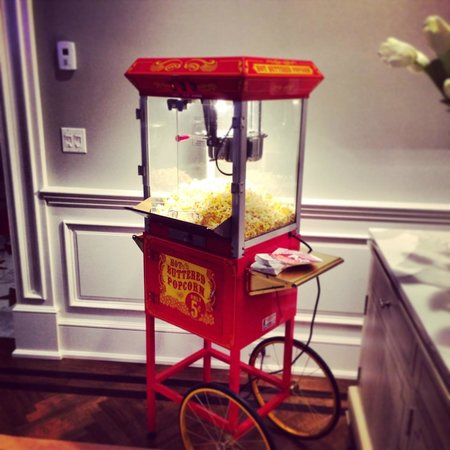 Bergenfield, Nueva Jersey: Popcorn cart