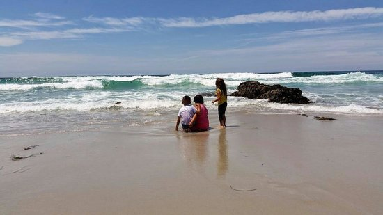 17-Mile Drive : Kids having fun