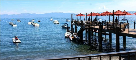 West Shore Cafe: Wharf Dining!