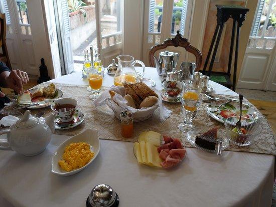 Palacete Chafariz D'El Rei: Breakfast