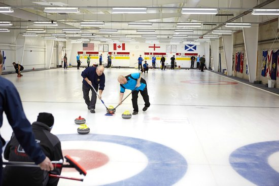 The Gardens Ice House: Curling Center