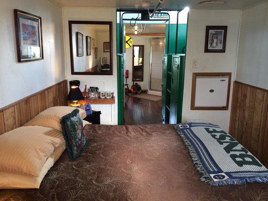 Train Bed And Breakfast Sequim