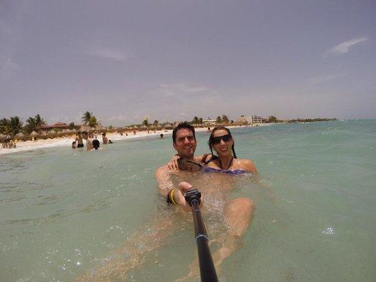 Iberostar Paraiso Beach: Playa paraíso