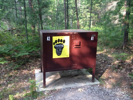 Platte River Campground: Bear-proof box