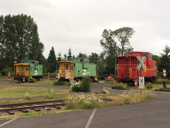 Red Caboose Getaway: Authentic unique setting