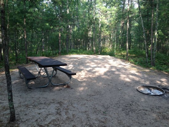 Platte River Campground : Secluded campsite