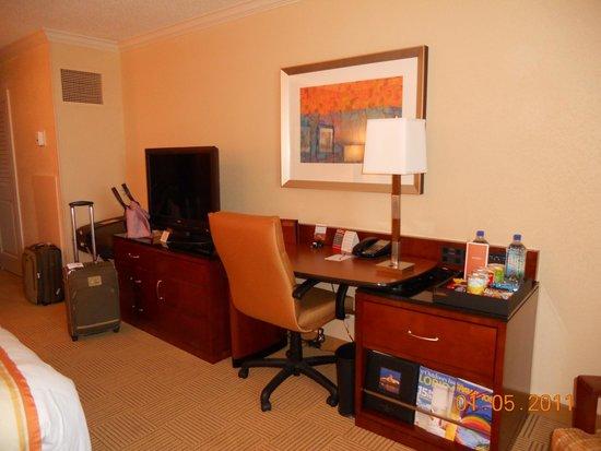 Orlando World Center Marriott: Working area