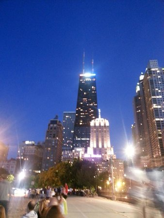 Millennium Knickerbocker Hotel Chicago: View from Oak Street Beach