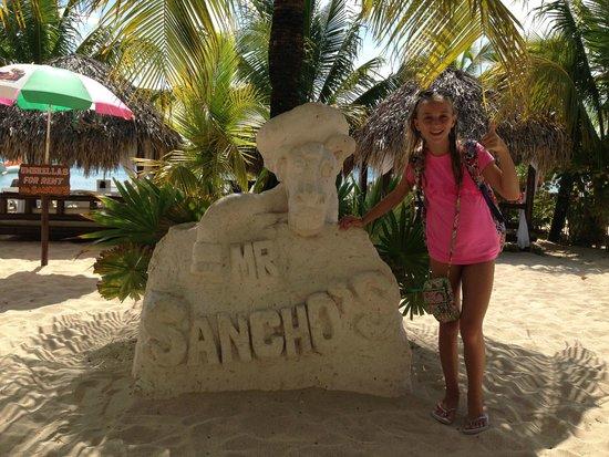 Mr Sanchos Beach Club Cozumel: Mr. Sanchos is awesome!!