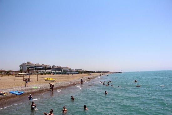 Vera Mare Resort: пляж
